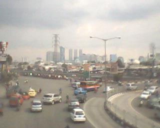 Captured from overpass